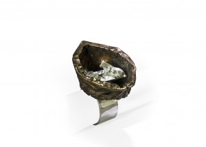 Ring | Bronce | 935 Silber | Emaille